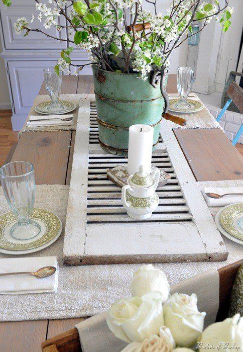 Get inspired vintage decor idea bridechilla blog for Astuce decoration