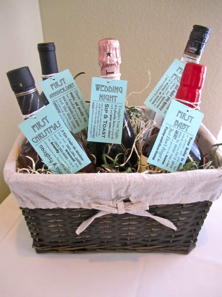 Bridal Shower Gift Basket Ideas For Bride : Bridal Shower Ideas
