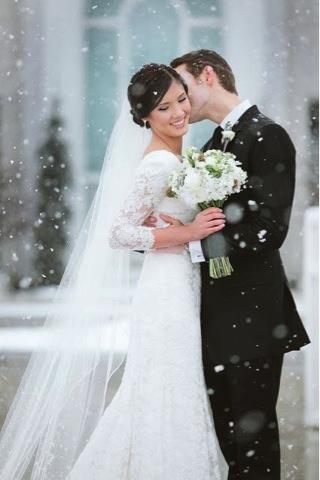 winter wedding colors 1
