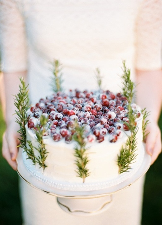 cranberry and rosemary cake